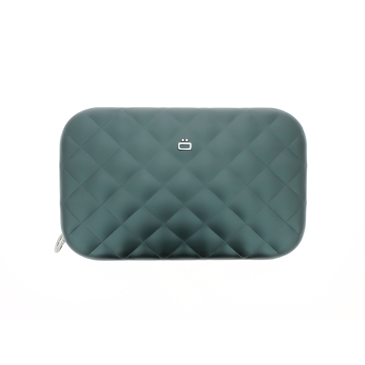 OGON Aluminum Clutch Quilted Lady Bag - Platinium